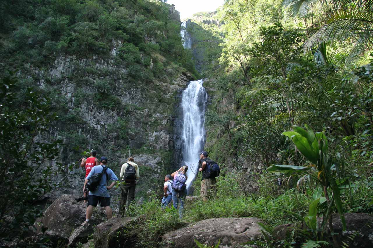 A Molokai Waterfall