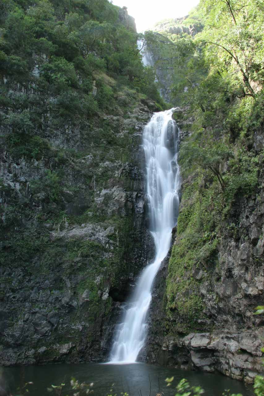 Moa'ula Falls in the legendary Halawa Valley