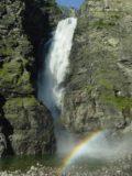 Mollisfossen_030_07072005 - Mollisfossen and rainbow