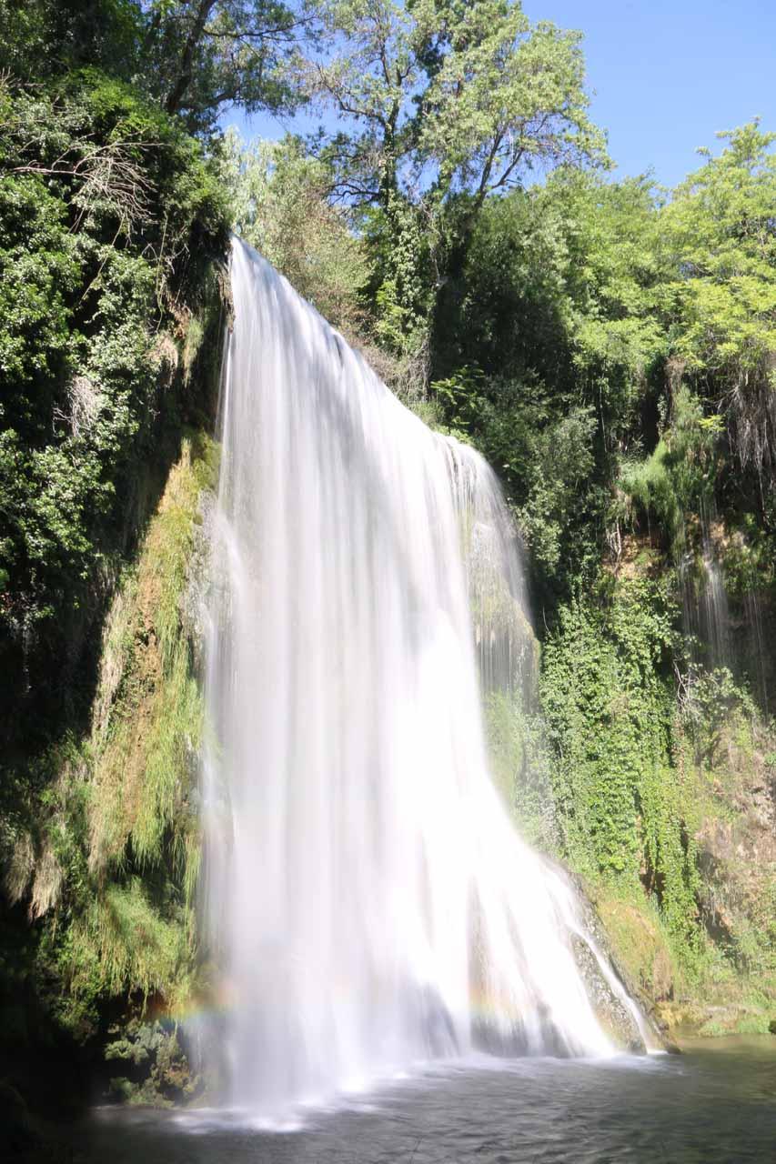 Cascada La Caprichosa, which was one of many waterfalls at the Monasterio de Piedra
