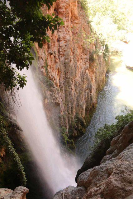 Monasterio_de_Piedra_255_06052015 - Cola de Caballo (Horse's Tail) - perhaps the tallest of the many waterfalls at Monasterio de Piedra