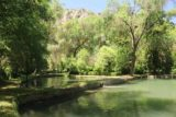 Monasterio_de_Piedra_322_06052015 - Looking across the context of the trout pools at the Monasterio de Piedra park
