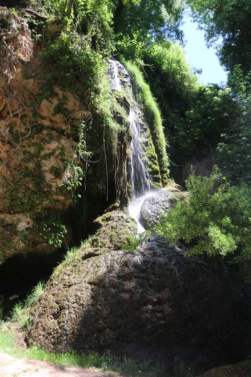 This waterfall, which kind of sat alone compared to the other ones seen in the park was called Cascada Sombria