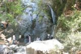 Monrovia_Canyon_038_04122009 - Eventually a lot of people showed up at the falls