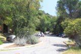 Monrovia_Canyon_14_009_04202014 - Looking at the surprisingly partially full parking lot at Monrovia Canyon Park