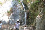 Monrovia_Canyon_14_057_04202014 - Julie and Tahia enjoying the Monrovia Canyon Falls in April 2014