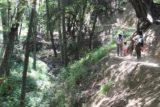 Monrovia_Canyon_14_079_04202014 - Julie and Tahia continuing to make their return hike to the trailhead for the Monrovia Canyon Park in April 2014