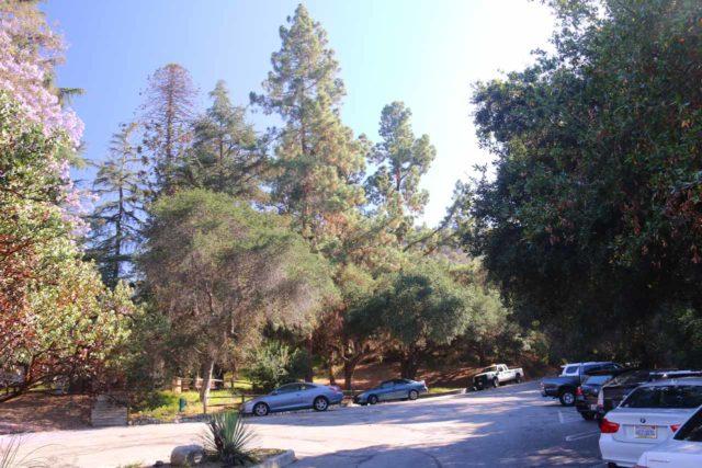 Monrovia_Canyon_15_002_07262015 - Looking towards the far end of the upper parking lot for the Monrovia Canyon Park
