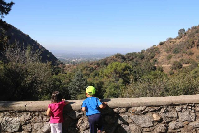 Monrovia_Canyon_15_008_07262015 - Tahia and Joshua checking out the view of the LA Basin