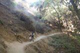 Monrovia_Canyon_Falls_013_11132016 - Context of Julie and Tahia continuing along the trail leading to Monrovia Canyon Falls in November 2016