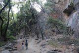 Monrovia_Canyon_Falls_060_11132016 - Julie and Tahia heading back from the Monrovia Canyon Falls in November 2016