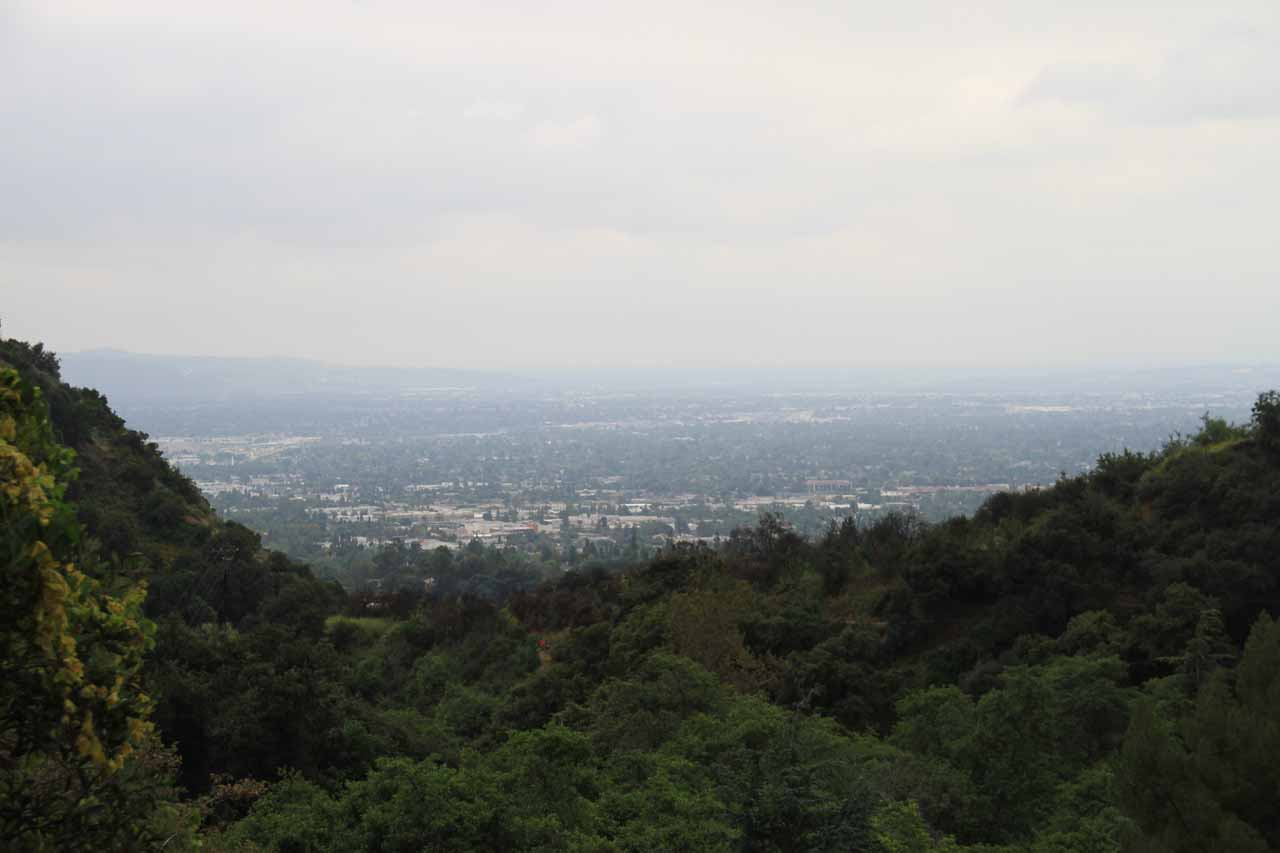 View from our little feeding spot