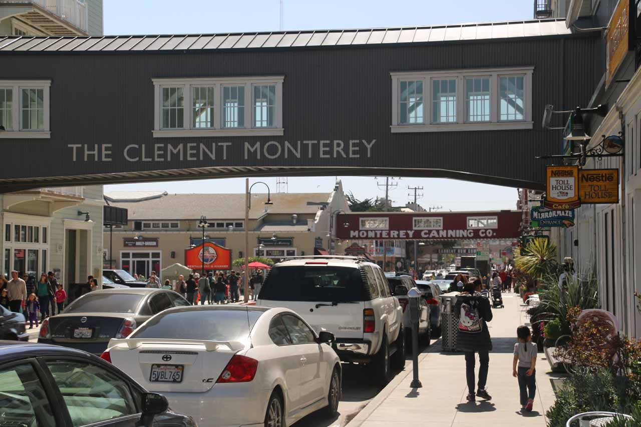 Walking deeper into Cannery Row
