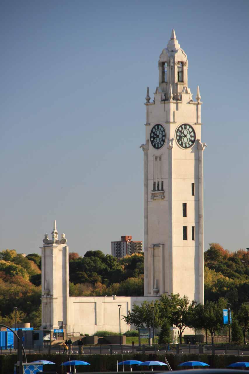 The clock tower at Quai Horloge