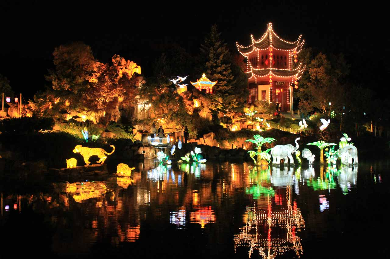 The Chinese Botanical Garden in Montreal
