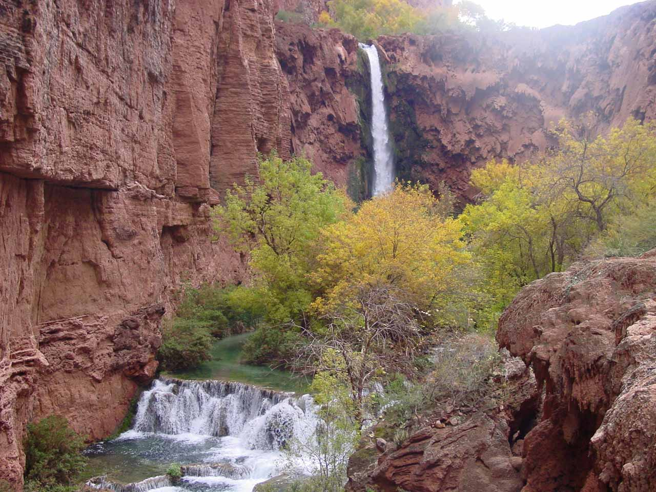 American Southwest Waterfalls