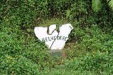 Moorea_076_20121219 - A Moorea-shaped PK marker saying 'Belvedere' instead of a number