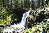 Moose_Falls_012_08062020 - On our August 2020 trip, despite the COVID-19 pandemic, Moose Falls was as busy as I've ever seen it as evidenced by this photo