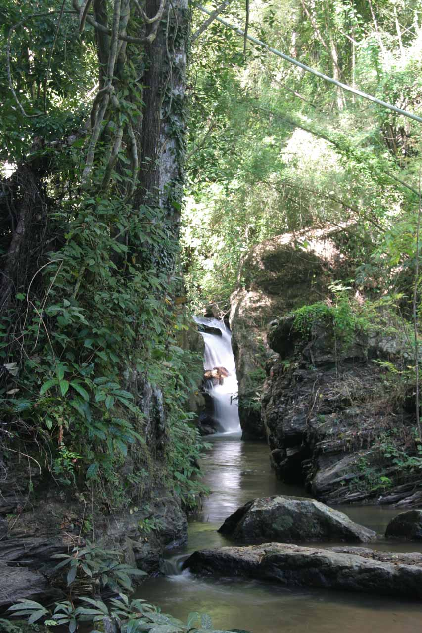 The Ob Noi Waterfall along the way