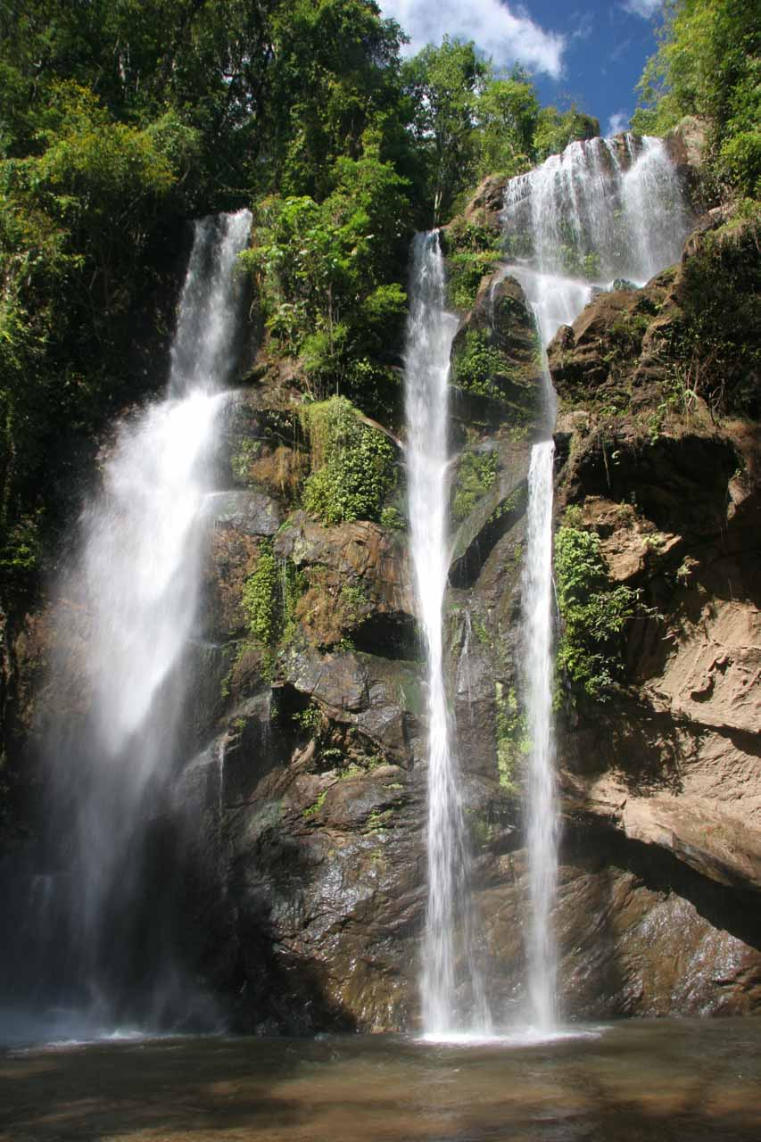 Our last look at the Mork-Fa Waterfall