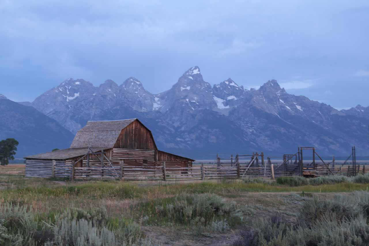 Going east of Idaho Falls, one would eventually reach Jackson Hole, which was the southern gateway to the Grand Teton National Park