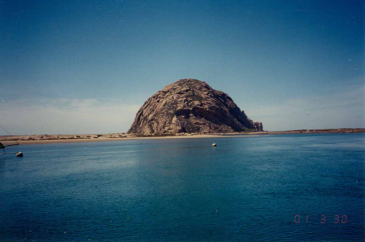 Arroyo Grande was not far south of San Luis Obispo and Moro Bay, which featured this eccentric rock formation called Moro Rock