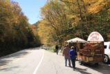 Moss_Glen_Falls_Granville_008_09302013 - Someone selling maple syrup at the Moss Glen Falls by Granville