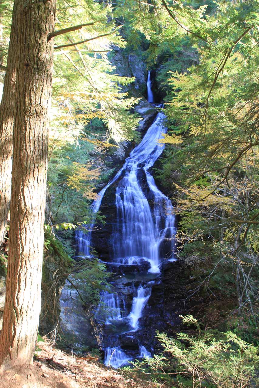 Moss Glen Falls in Stowe