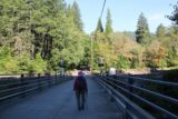 Mossbrae_Falls_005_06192016 - On the bridge spanning the Sacramento River, where just on the other end of the bridge were the railroad tracks that we took to Mossbrae Falls