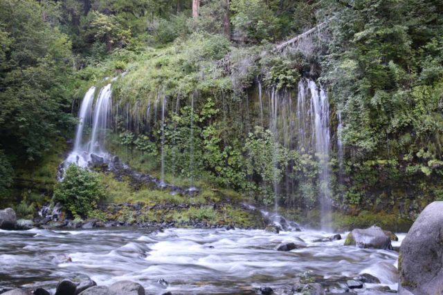 Mossbrae_Falls_065_06192016 - More seeping segments of the Mossbrae Falls that aren't part of the main drop