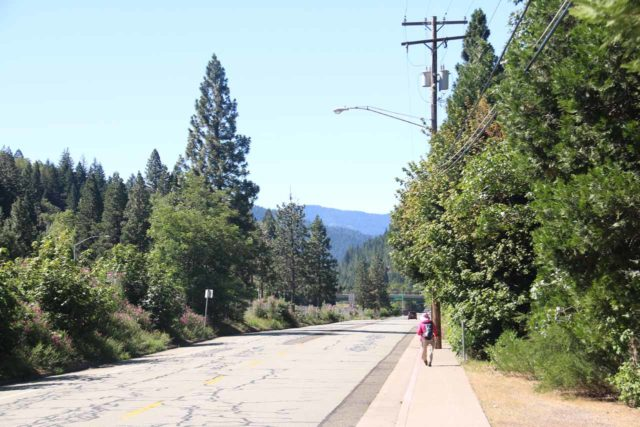 Mossbrae_Falls_180_06192016 - After leaving the Shasta Retreat community, we had to walk along Dunsmuir Ave to our parked car