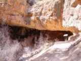 Mossy_Cave_017_04112003 - Approaching the Mossy Cave Formation back when they used to let you go into its alcove on our April 2003 visit