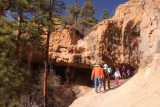 Mossy_Cave_18_029_04032018 - The group approaching the Mossy Cave during our April 2018 visit