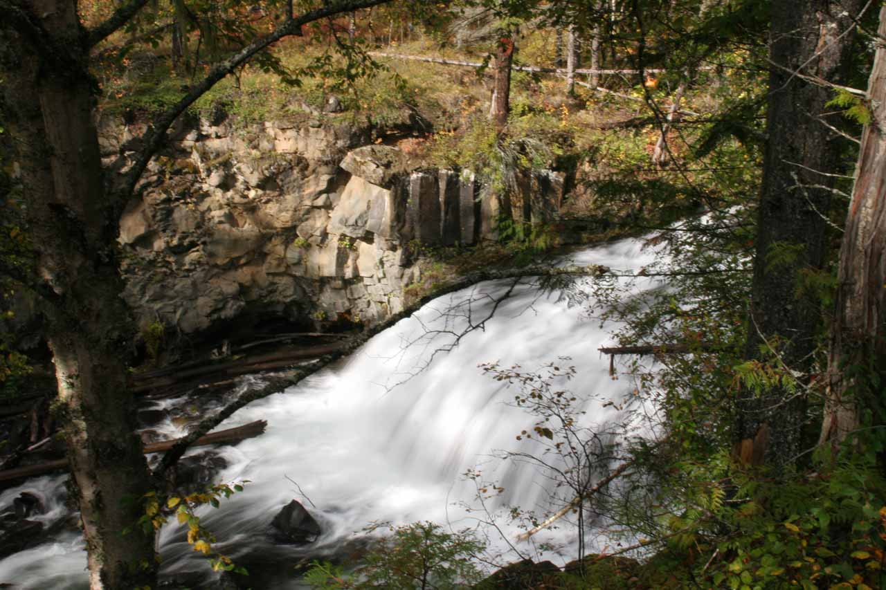 One of the cascades we saw on the way to Moul Falls