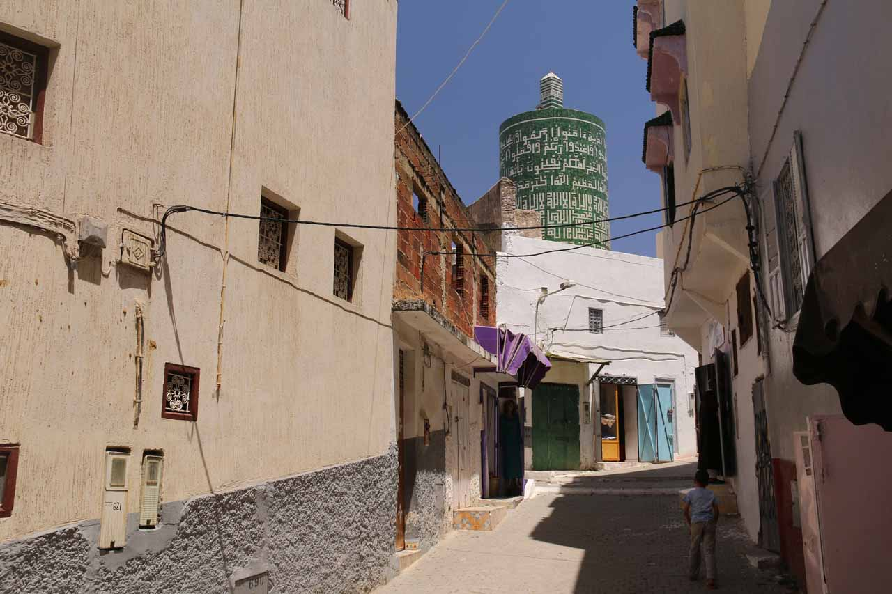 There was an old-school charm to Moulay Idriss that was reminiscent of an old neighborhood in Santorini, Greece