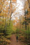 Moxie_Falls_007_10042013 - On the trail for Moxie Falls