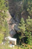 Moyie_Falls_007_08052017 - Looking down at the dry Moyie Falls upstream from the hydro facility
