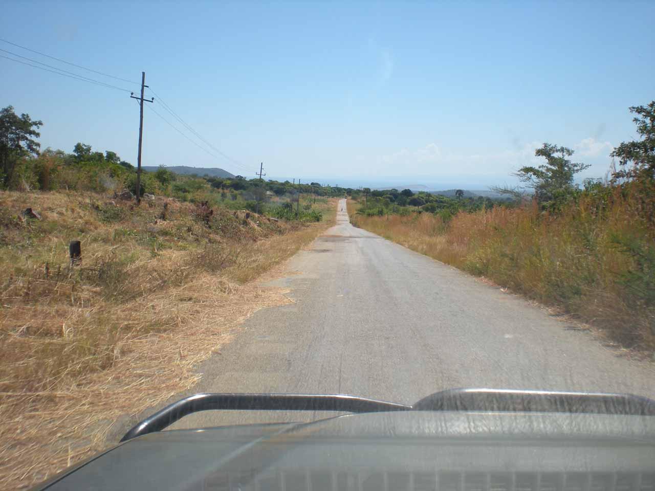 The road to Mpulungu