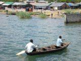Mpulungu_003_jx_06012008 - A pair of locals rowing boats full of fish near Mpulungu