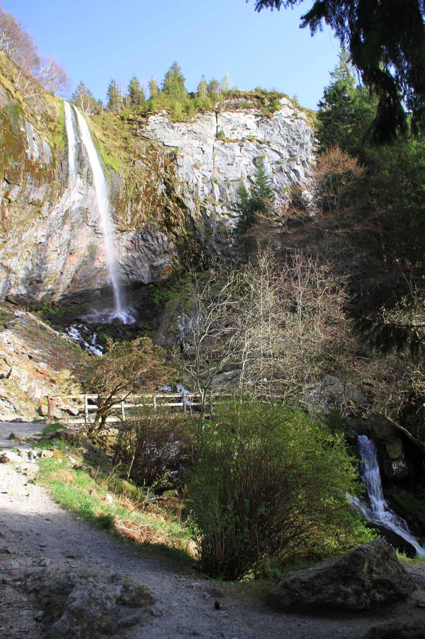 First look at La Grande Cascade