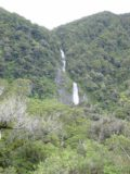 Mt_Aspiring_NP_005_11232004 - This was another one of the impressive waterfalls that we saw in the Haast River Valley in November 2004. This was another one of the waterfalls that we saw in November 2004 but didn't see again in December 2009