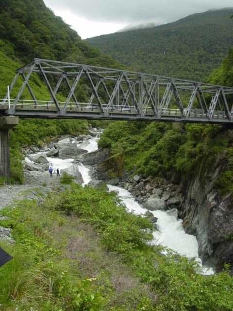 Mt_Aspiring_NP_030_11232004 - This was the bridge over the Haast River at the Gates of Haast just 4.5km north of Fantail Falls