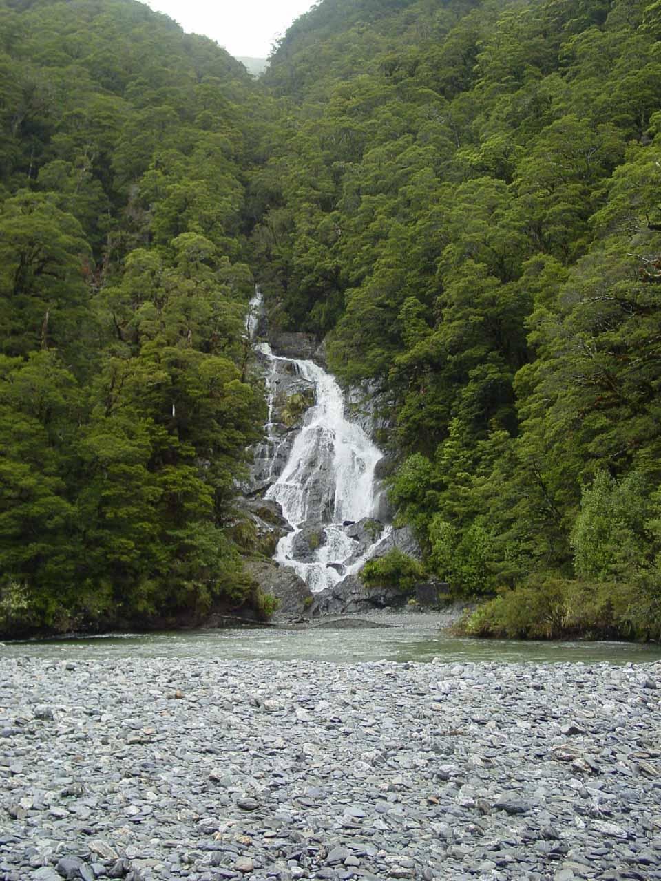 Approaching Fantail Falls