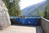 Mt_Blanc_Chamonix_060_20120520 - The barricade on the other side of the bridge blocking further progress