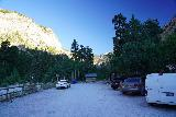 Mt_Charleston_002_08112020 - It was about 6:50am when I arrived at the Mary Jane Falls Trailhead Parking Lot on my August 2020 hike to both Mary Jane Falls and Big Falls