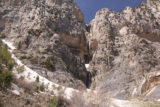 Mt_Charleston_342_04222017 - This was probably the last clean view of 'Medium Falls' that I was going to get as getting further up the steep slope meant more slipping and sliding (hopefully not falling in) on the snow