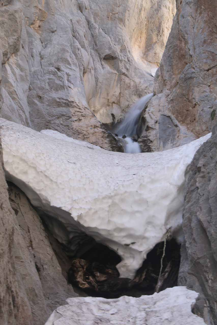 Finally finding the Little Falls