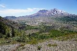 Mt_St_Helens_025_06232021 - Contextual look across a half-barren valley towards the blast crater of Mt St Helens