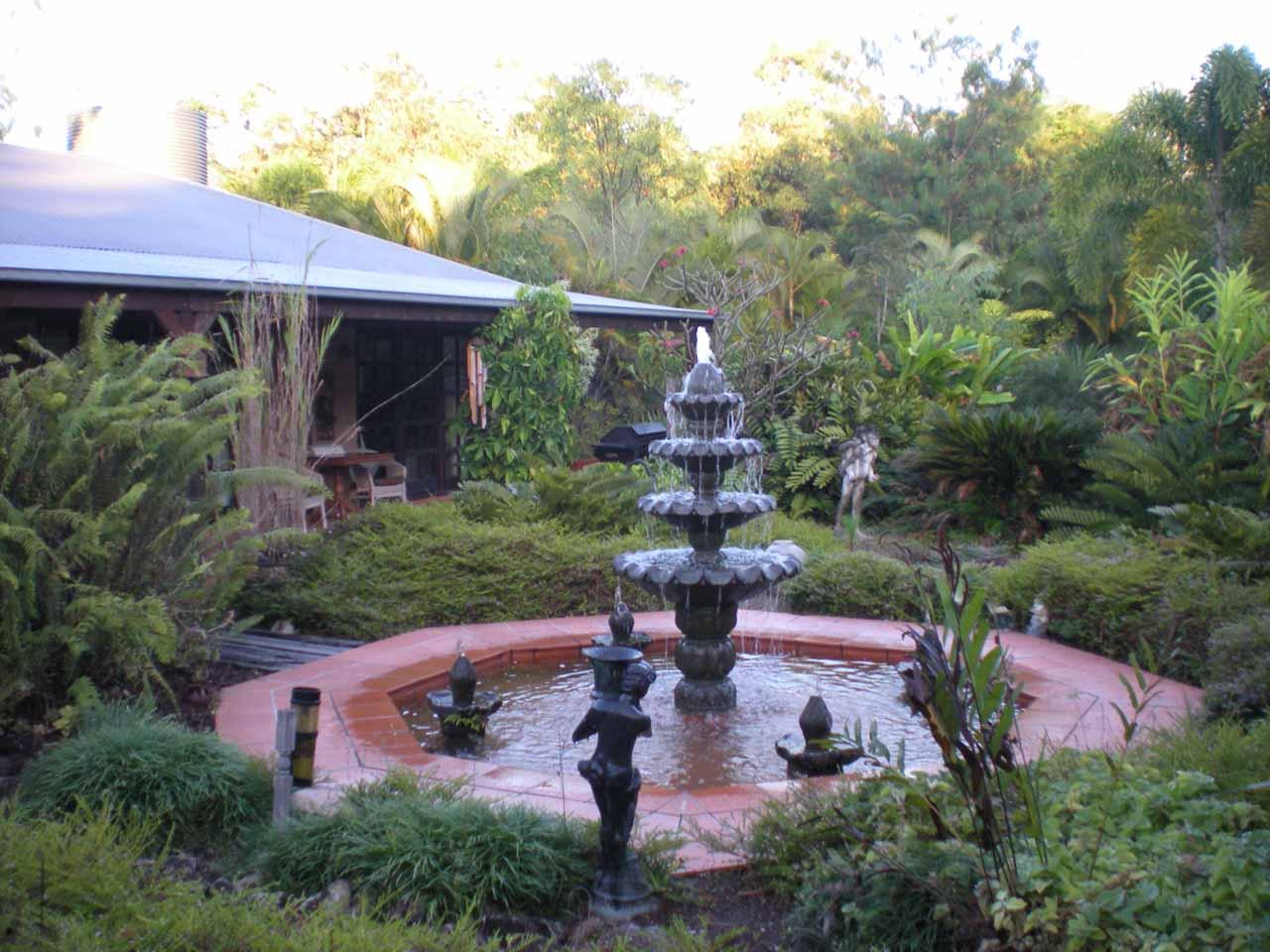 Morning at the Mudbrick Manor