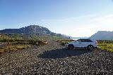 Mulafoss_003_08092021 - Looking back at the context of Neðri-Stafur in the direction of Seyðisfjörður from the trailhead
